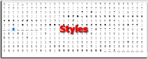 apply different style per line - Different Styles Of Design
