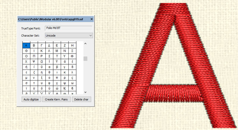 Wings Modular 6 Embroidery Software
